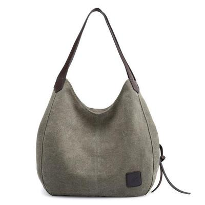 SUZY - VEGAN WOMENS CANVAS HANDBAG