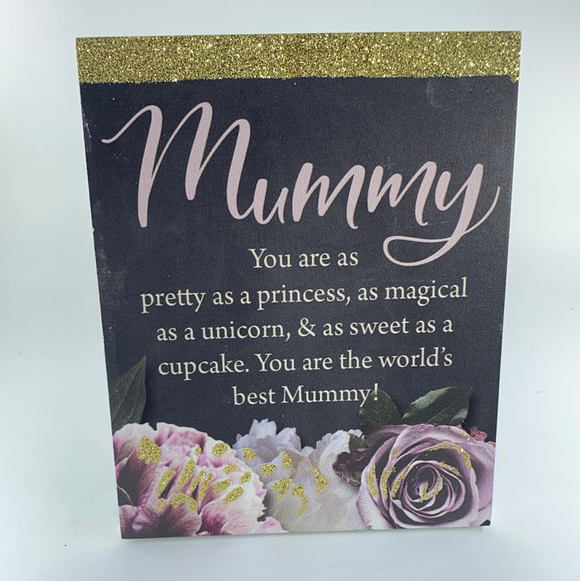 Mummy Plaque 12 x 15cm Kelly Lane collection