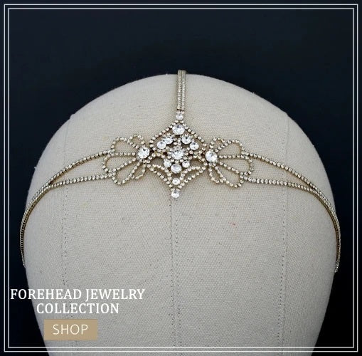 Bridal Forehead Jewelry