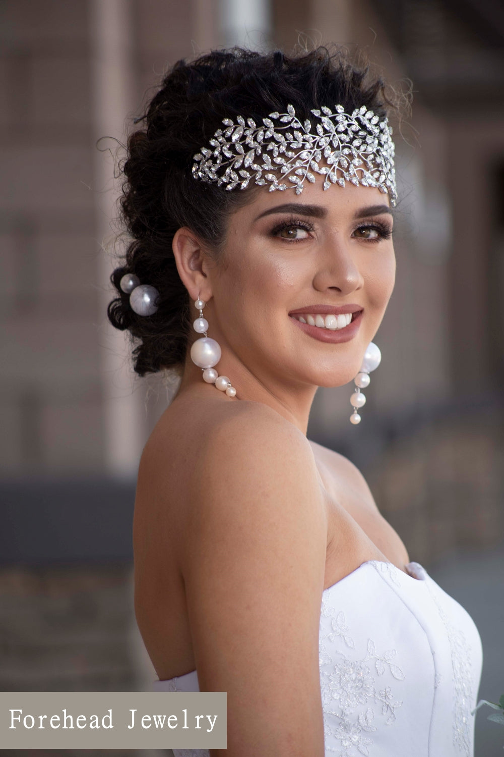 Best Wedding Forehead Jewelry - Ellee Couture Boutique