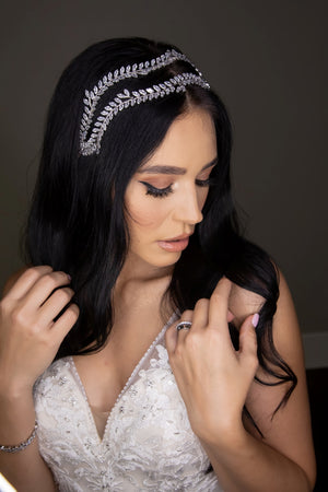 ALESIA Luxurious Swarovski Wedding Headband