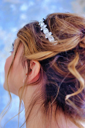 ARIEL Swarovski Wedding Headband