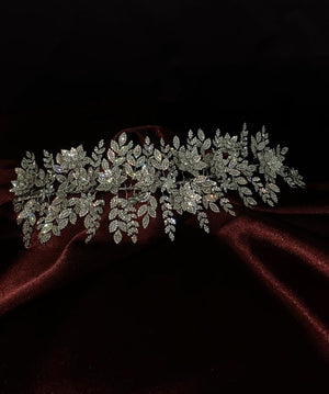 AURELIA Swarovski Bridal Headpiece, Wedding Headband
