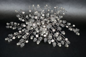 AYNA Headpiece, Swarovski Bridal Hair Comb