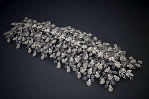 ALESSANDRA Swarovski Wedding Headpiece from Ellee Couture Boutique