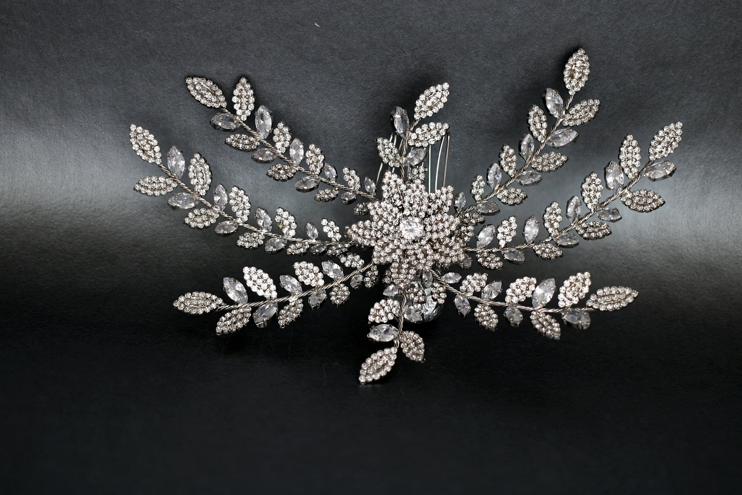 ALLY Headpiece, Swarovski Bridal Hair Comb