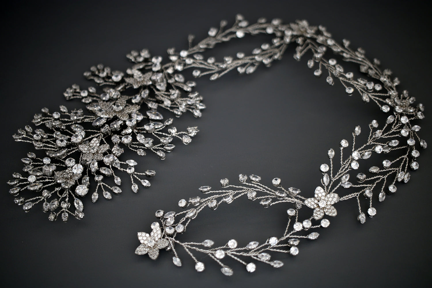 GENEVA Luxurious Bridal Headpiece