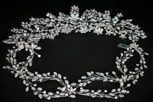 GENEVA Plus Luxurious Bridal Headpiece