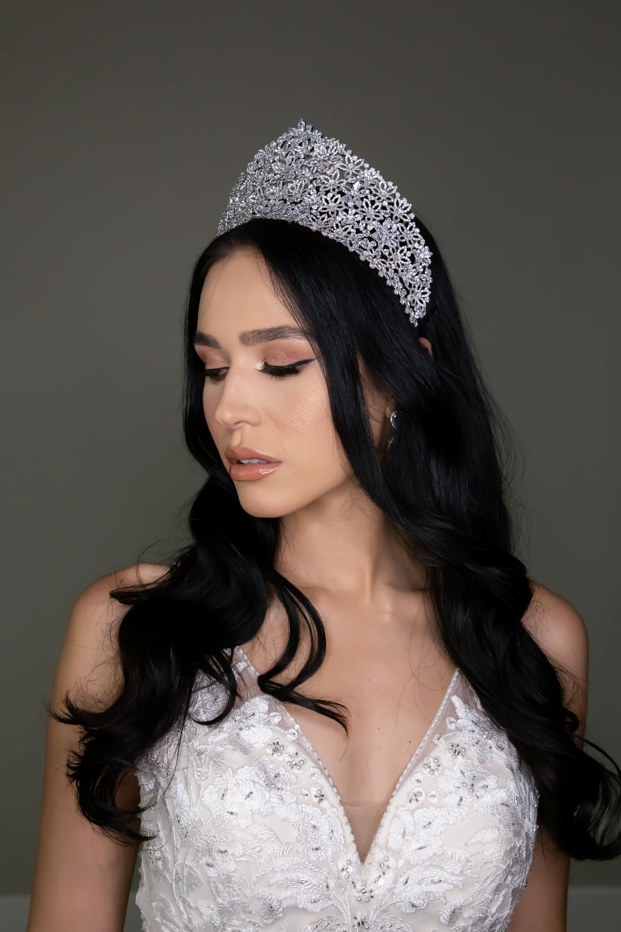 ISADORA Luxurious Swarovski Bridal Tiara