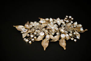 LDYIE Swarovski Hair Comb, Wedding Headpiece