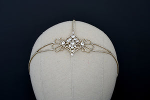 LYRIC Swarovski Wedding Forehead Jewelry