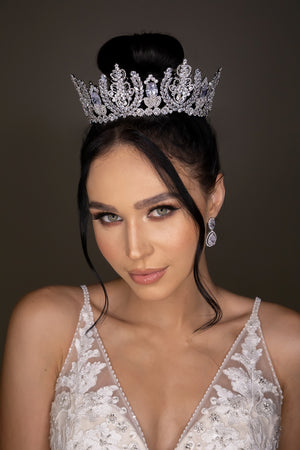 REGINA Swarovski Bridal Full Crown