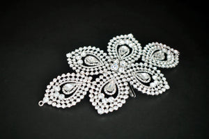 SYLVIE Swarovski Bridal Headpiece, Wedding Hair Comb