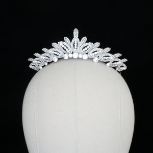 CRIMSON Swarovski Bridal Crown