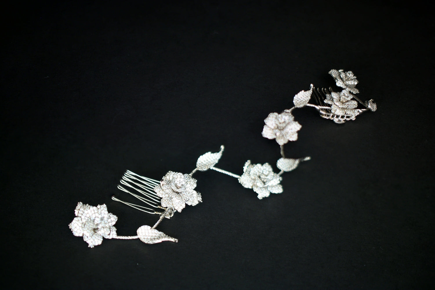 SOPHIA Wedding Hair Comb with Luxurious Micro Cubic Zirconia