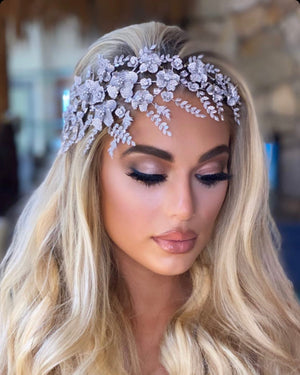 Bridal Headpiece with Elegance and Grace | Ellee Couture Boutique