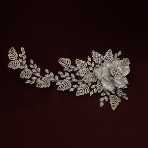 LAURA Swarovski Bridal Hair Comb, Wedding Headpiece