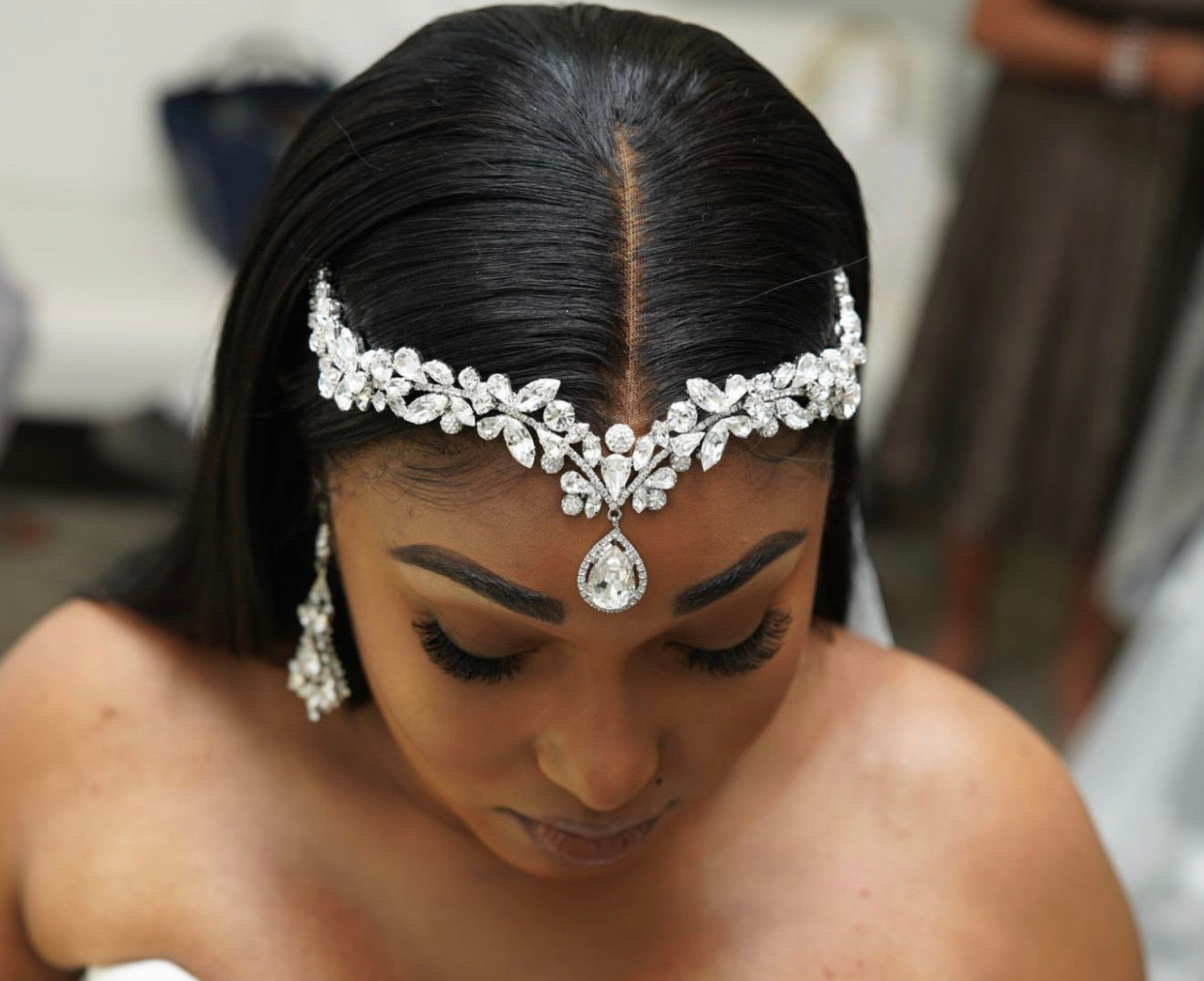 ZOE Wedding Forehead Jewelry