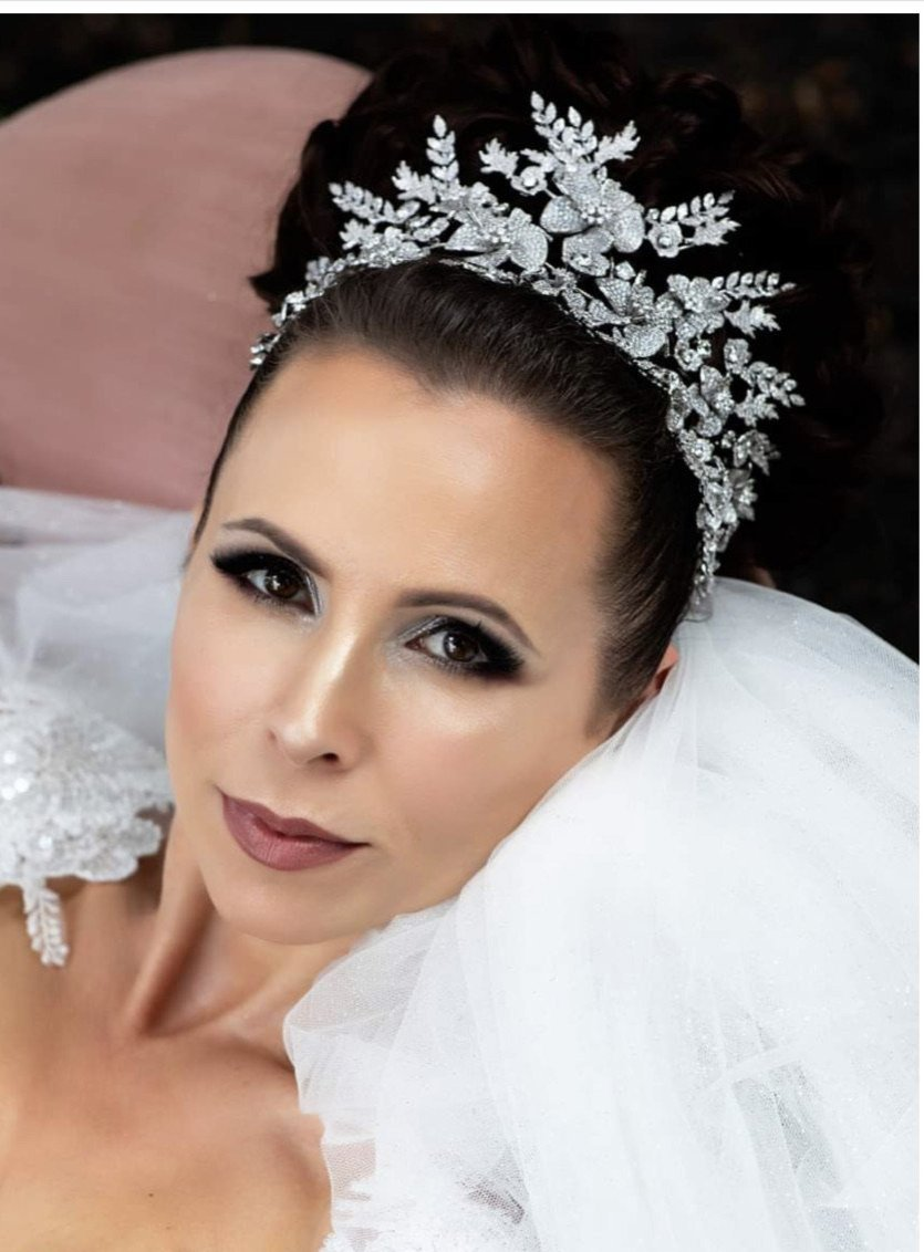 ERICANA Swarovski Wedding Luxurious Headpiece