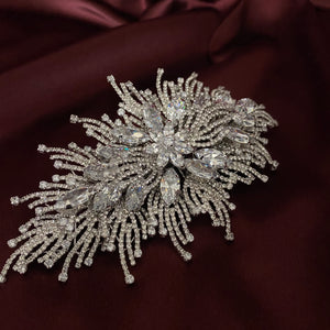 RAWAN Swarovski Wedding Headpiece, Wedding Hair Comb