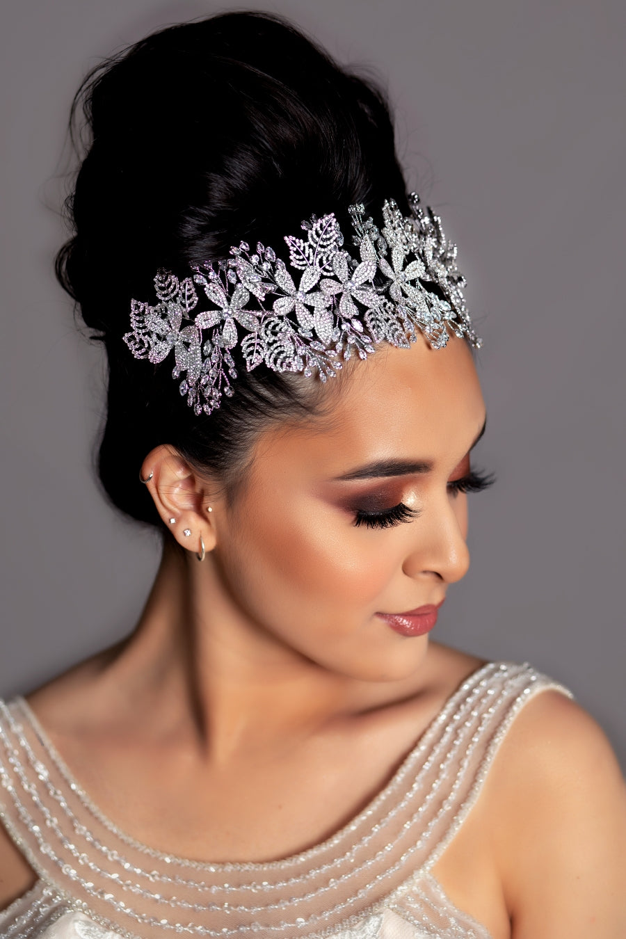 ROSALEE Swarovski Luxurious  Bridal Headpiece