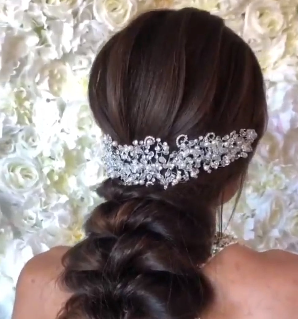 PEARL Headband - Swarovski & Pearls Headpiece