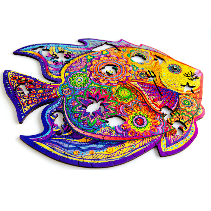 Wooden Puzzle Shining Fish