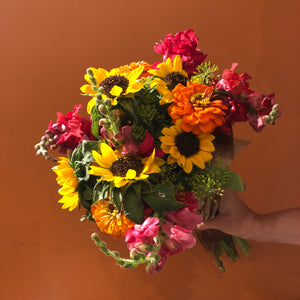 Five Weeks of Summer Flowers • Flexible Pick Up Dates