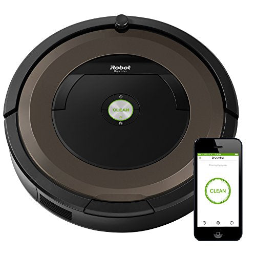 iRobot Roomba 890 Robot Vacuum Cleaner with Wi-Fi Connectivity, Works with Alexa, Ideal for Pet Hair, Carpets, & Hard Floor Surfaces - Robot Vacuum Store