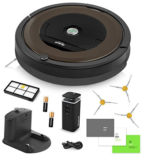iRobot Roomba 890 Vacuum with bonus Virtual Wall Barrier, Ideal for Pet Hair - Robot Vacuum Store