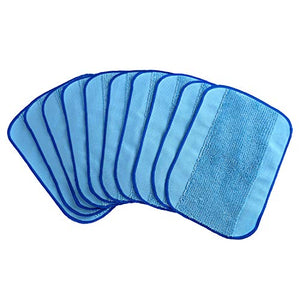 10-pack Wet Microfiber Mopping Cloths Washable&Reusable Mop Pads Fits iRobot Braava 380 380t 320 321 Mint 4200 4205 5200 5200C Robot - Robot Vacuum Store