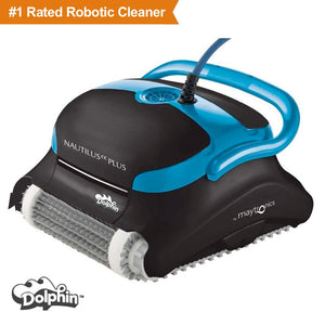 Dolphin Nautilus CC Plus Robotic Pool Cleaner - Robot Vacuum Store