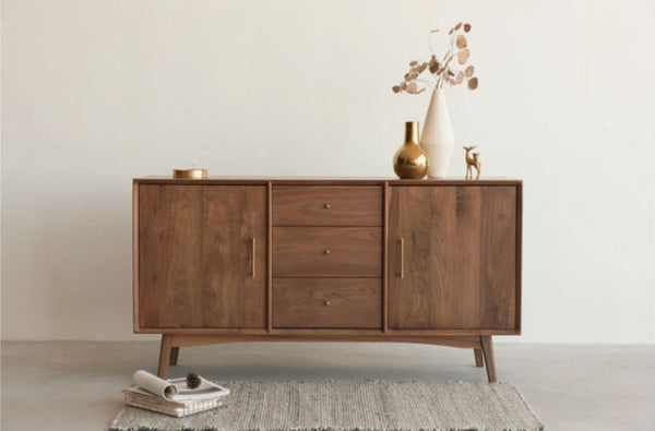 Wave sideboard Walnut