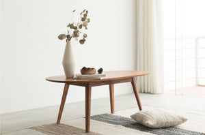 Elliptical Side Table