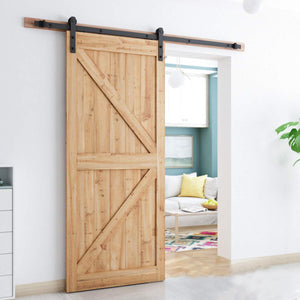 10ft  Sliding Barn Door Hardware Kit (I Shape )