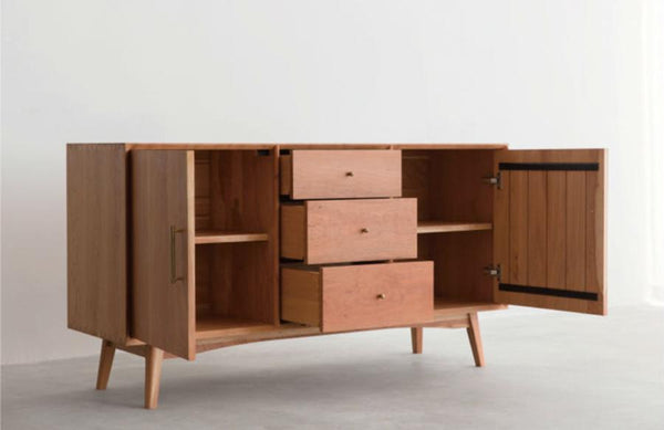 Wave sideboard Cherry wood