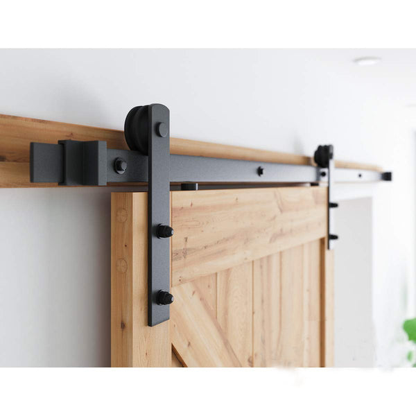 12ft  Sliding Barn Door Hardware Kit (I Shape )