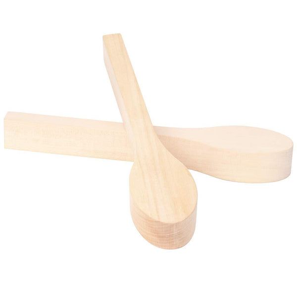 2 Pack Wood Carving Spoon Blank