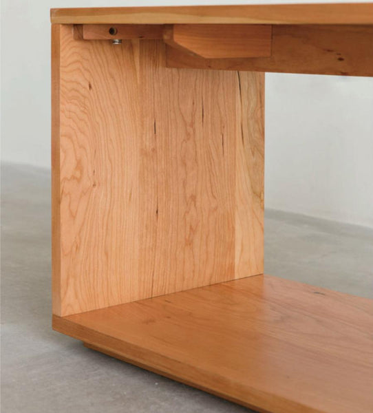 Frame Cabinet Bench Cherry wood
