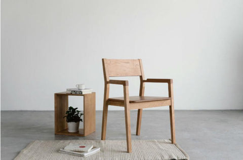 Nordic Armchair Cherry wood
