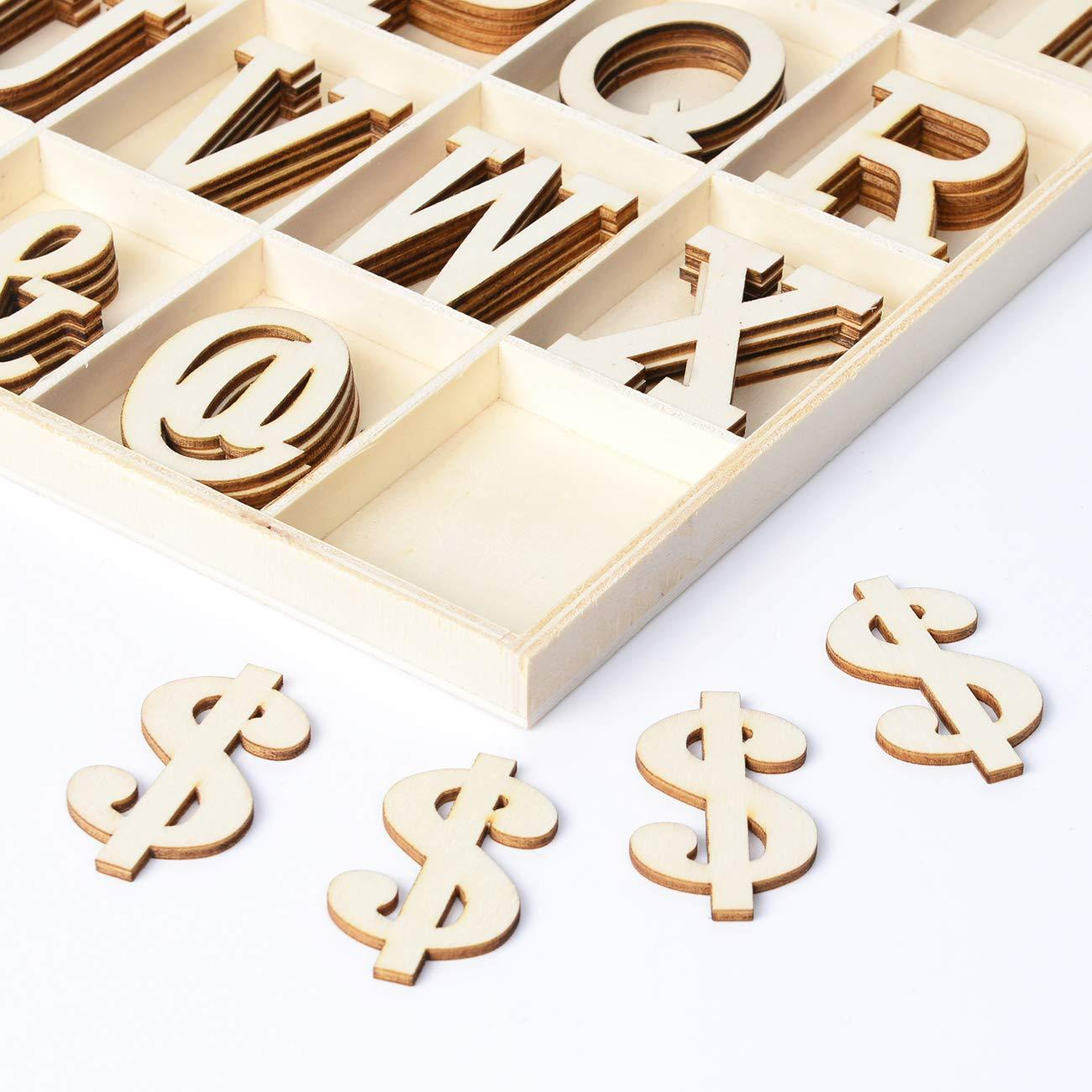 Wooden Letters Wooden Alphabets Craft
