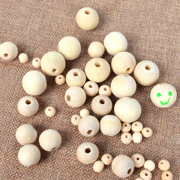 Natural Wooden Spacer Beads