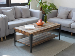 Rustic Vintage Industrial Coffee Tables for Living Room
