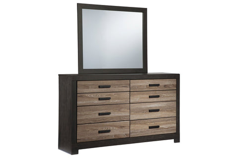 6 Drawers Dresser with Mirror