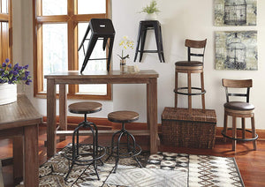 Bar Stool Light Brown