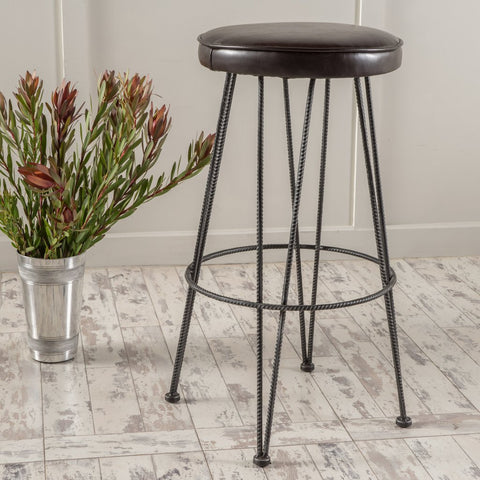 Black Metal Frame Bar stools