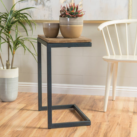 Wood Antique Accent Table