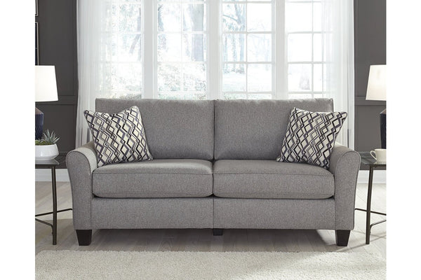 Grey minimalist sofa