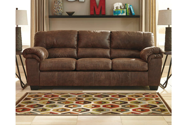 Brown Soft leather sofa