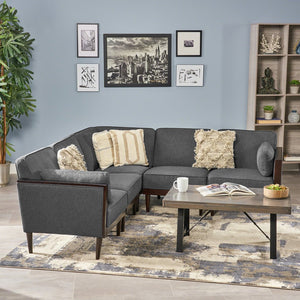 Contemporary Sectional Sofa Set